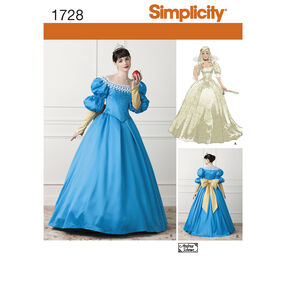 Simplicity Pattern 1728 Misses' Costume
