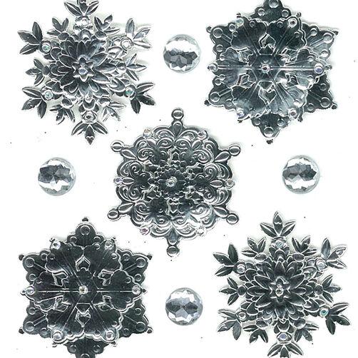 Snowflakes Embellishments_50-20397