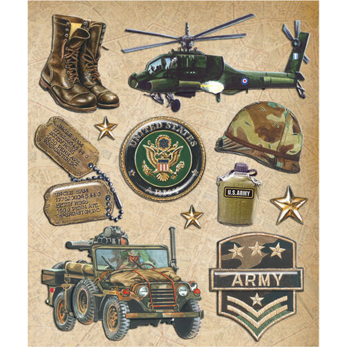 Army Sticker Medley_30-587984