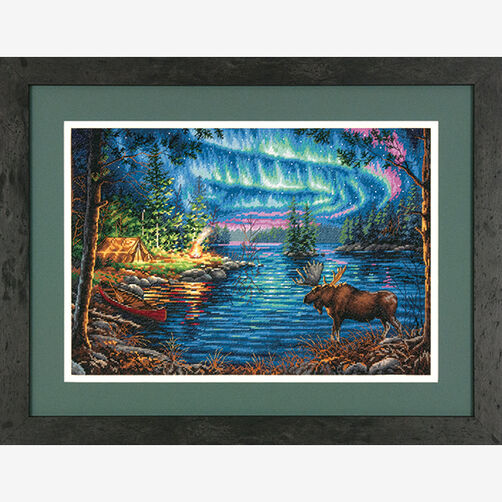 Northern Night in Counted Cross Stitch_70-35312