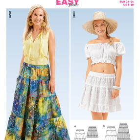 Burda Style Pattern 6666 Misses' Skirt