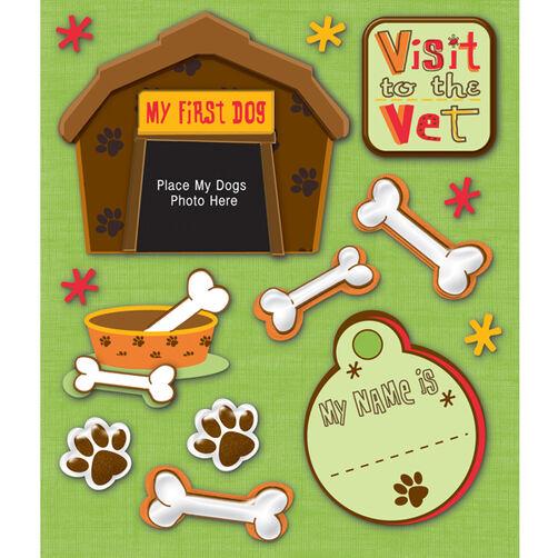 Pet Firsts Dog Sticker Medley_30-587960