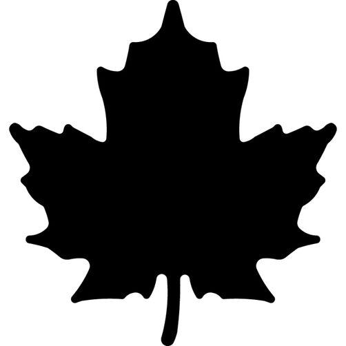Maple Leaf Large Punch_54-30018