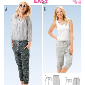 Burda Style Pattern 6659 Misses' Pants