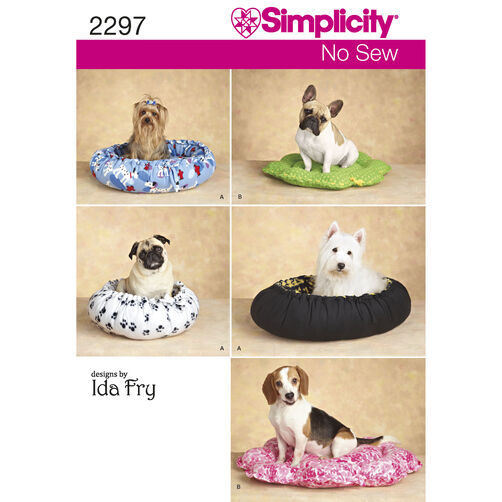 Simplicity Pattern 2297 Dog Beds