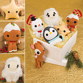 Stuffed Animals and Ornaments