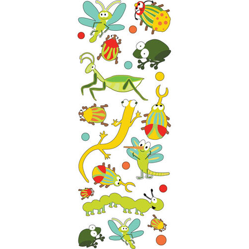 Busy Bugs Puffy Stickers_53-90009