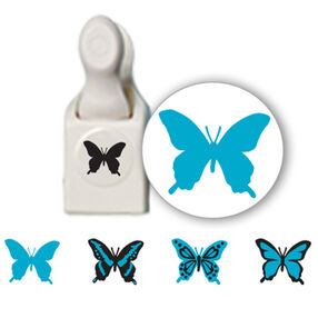 Butterfly Stamp And Punch _42-25010
