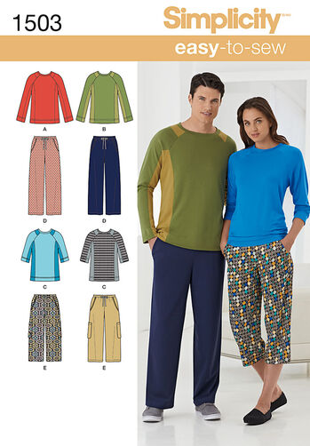 Unisex Lounge Pants and Knit Top