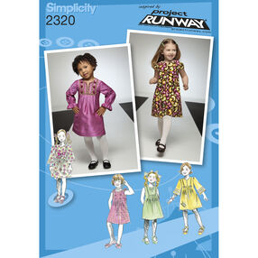 Simplicity Pattern 2320 Toddlers' & Child's Dresses