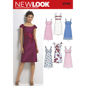 New Look Pattern 6749 Misses' Dresses