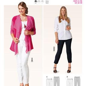 Burda Style Pattern 6816 Plus to size 60 (34)