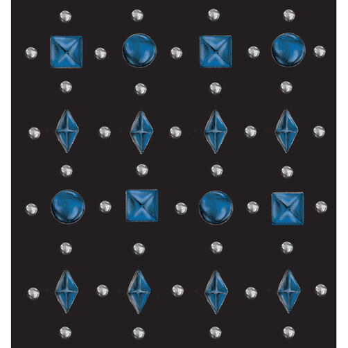 Blue Stud Stickers_50-20777