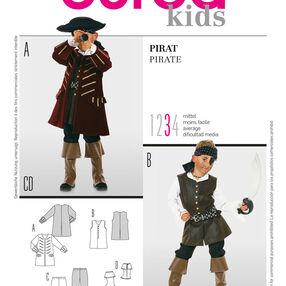 Burda Style Pattern 2452 Pirate
