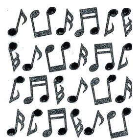 Music Notes Repeat Stickers _50-20738
