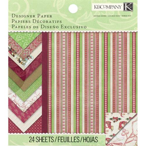 Christmas Cheer 6 x 6 Designer Paper Pad_30-678125