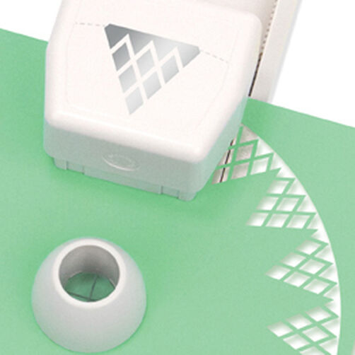 Circle Edge Punch Cartridge, Diamond Lace_42-93011