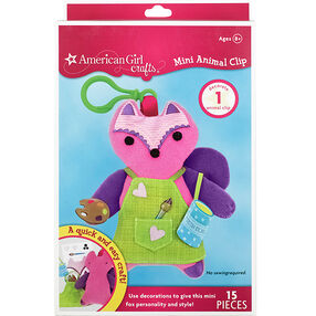 Fox Mini Animal Clip_30-682986
