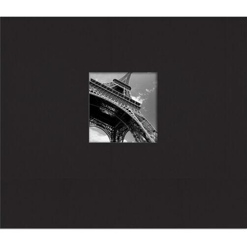 Simply K 8.5x8.5 Black Fabric Scrapbook_30-573673
