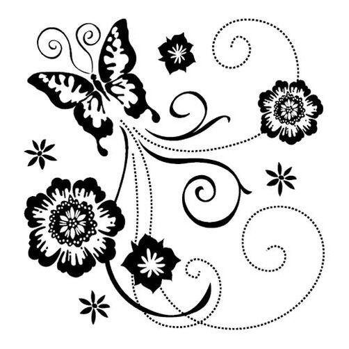 Butterfly Scroll_98874
