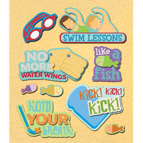 Swimming Lessons Sticker Medley_30-587458