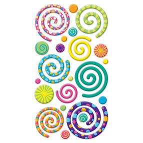 Swirly Gigs Puffy Stickers_SPP1PVC44