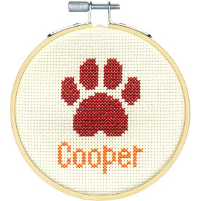 Paw Print, Counted Cross Stitch_72-75234