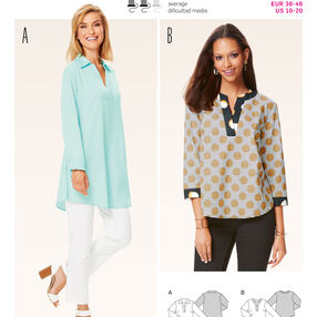 Burda Style Pattern 6633 Misses' Tunic
