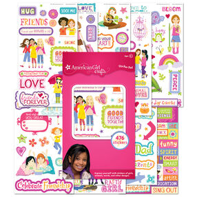 Girls Sticker Pad 2_30-598331