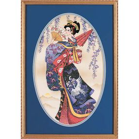 Splendor of The Orient, Stamped Cross Stitch_13099