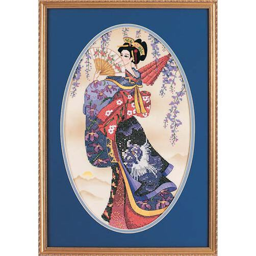 Splendor of The Orient, Stamped Cross Stitch_13099