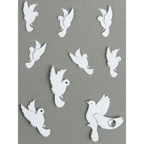 Mini White Dove Embellishments_50-00436