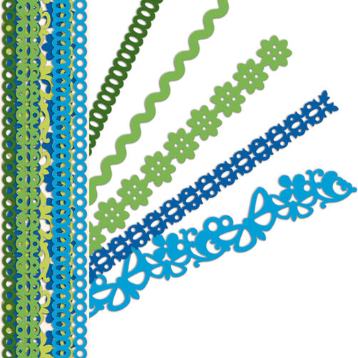 Sheer Simplicity Blue Adhesive Borders_30-387744