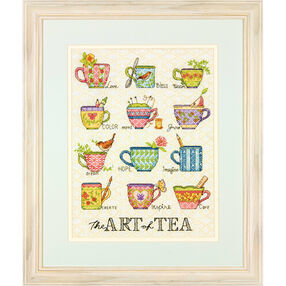 The Art of Tea, Counted Cross Stitch_70-35335