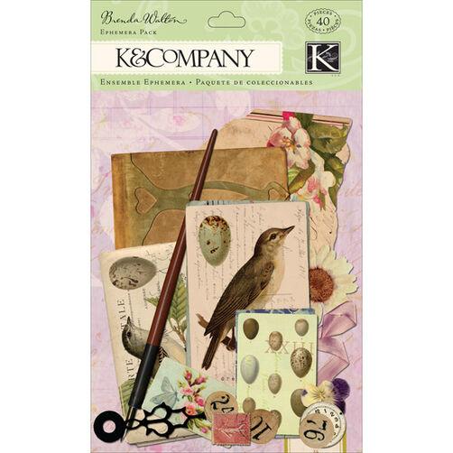 Brenda Walton Flora & Fauna Ephemera Pack_30-599611