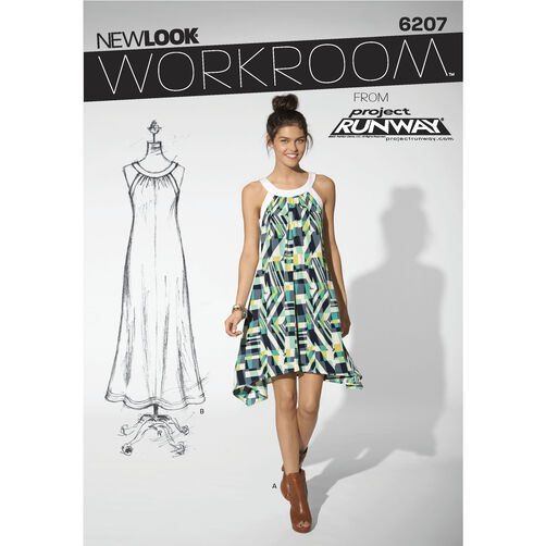 New Look Pattern 6207 Misses' Dress
