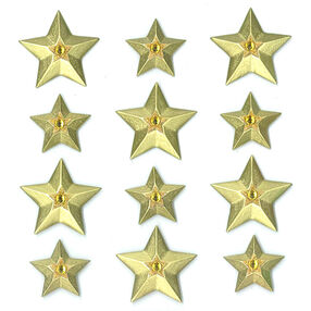 Gold Stars Cabochons_50-20900