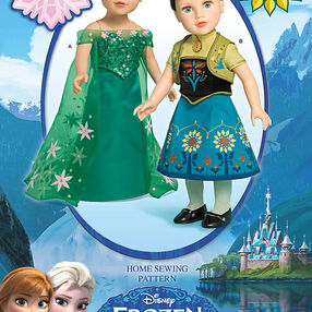 "Disney Frozen Fever 18"" Doll Clothes"