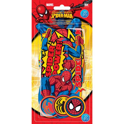 Spiderman Chipboard Pieces_51-02007