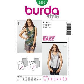 Burda Style Pattern 7509 T-Shirt