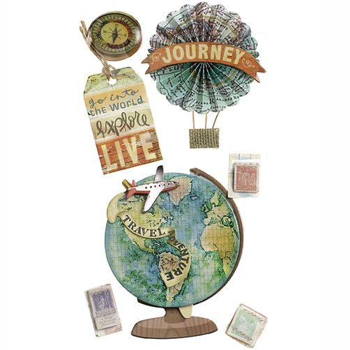 Map Medallion Stickers_50-50621
