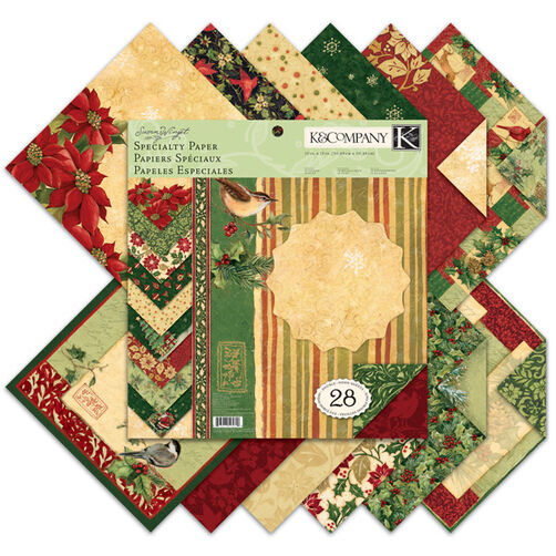 Susan Winget Glad Tidings 12x12 Specialty Paper Pad_30-595699