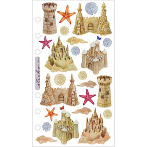 Vellum Stickers - Sandcastles_SPVM74