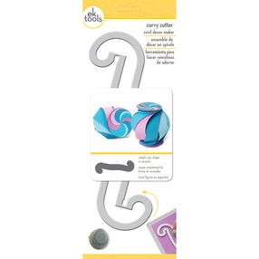 Curvy Cutter Swirl Décor Maker_54-00074