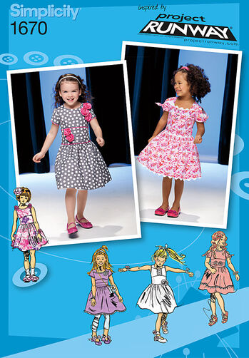 Toddlers' and Child's Dress Project Runway Collection