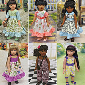 "Vintage Inspired 18"" Doll Clothes"