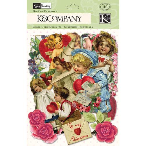 Kelly Panacci Valentine Ephemera Die-cut Cardstock_30-599147