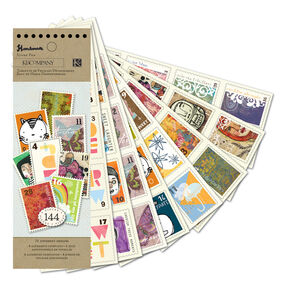 Handmade Stamp Sticker Pad_30-387584