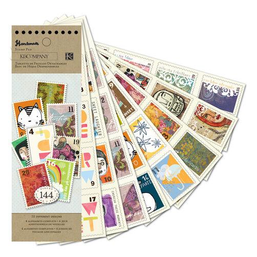 Handmade Stamp Sticker Pad_30-387584