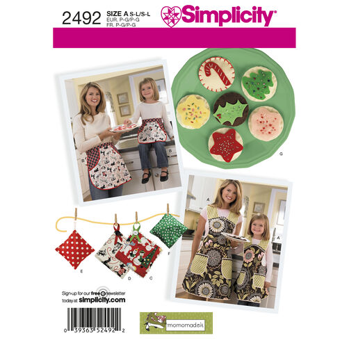 Simplicity Pattern 2492 Aprons
